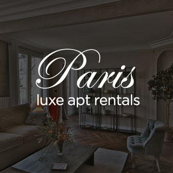 Paris Luxe Apartment Rentals